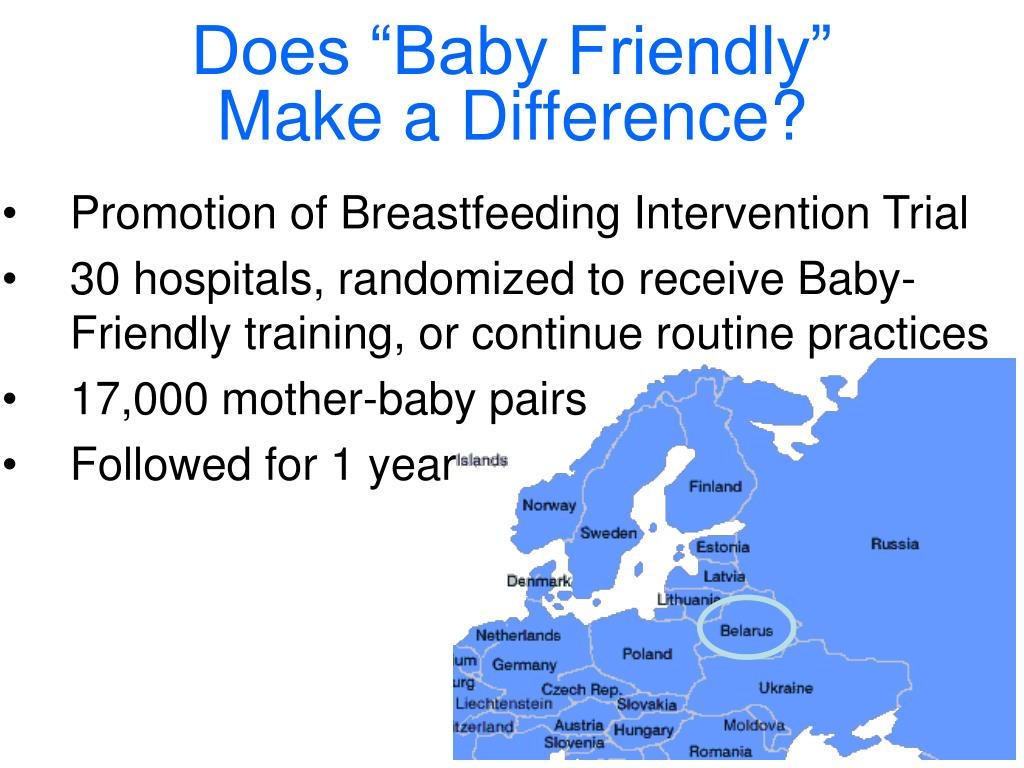 "Does ""Baby Friendly"""