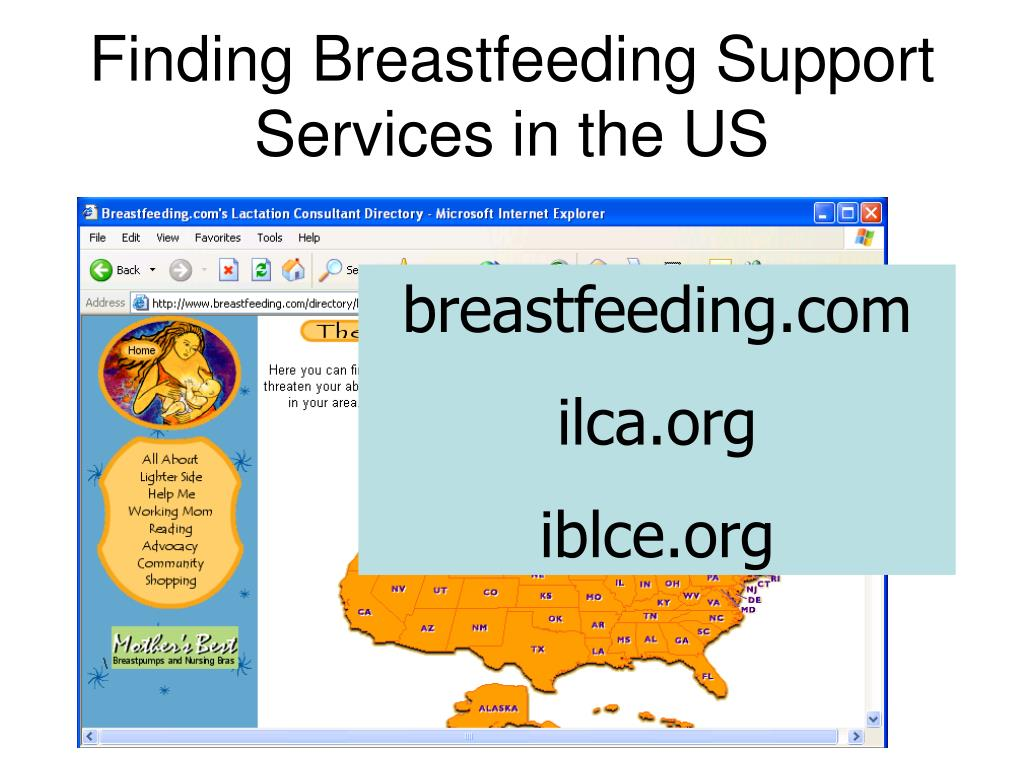 Finding Breastfeeding Support Services in the US