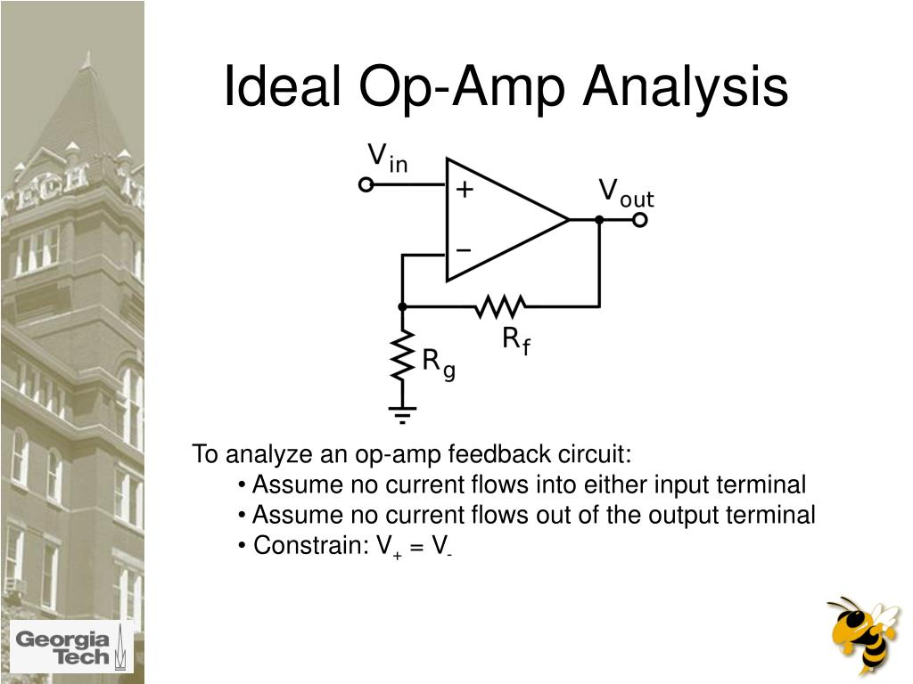 Ideal Op-Amp Analysis