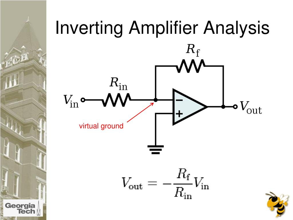 Inverting Amplifier Analysis