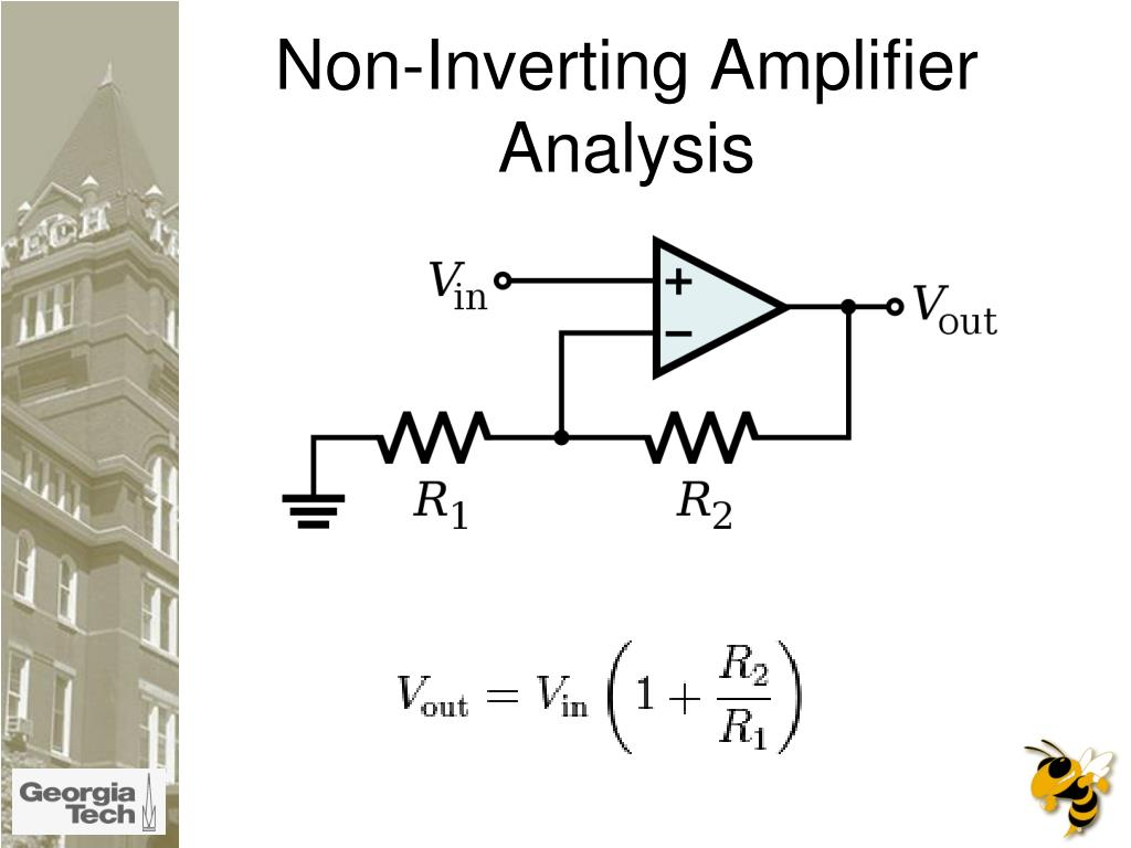 Non-Inverting Amplifier Analysis