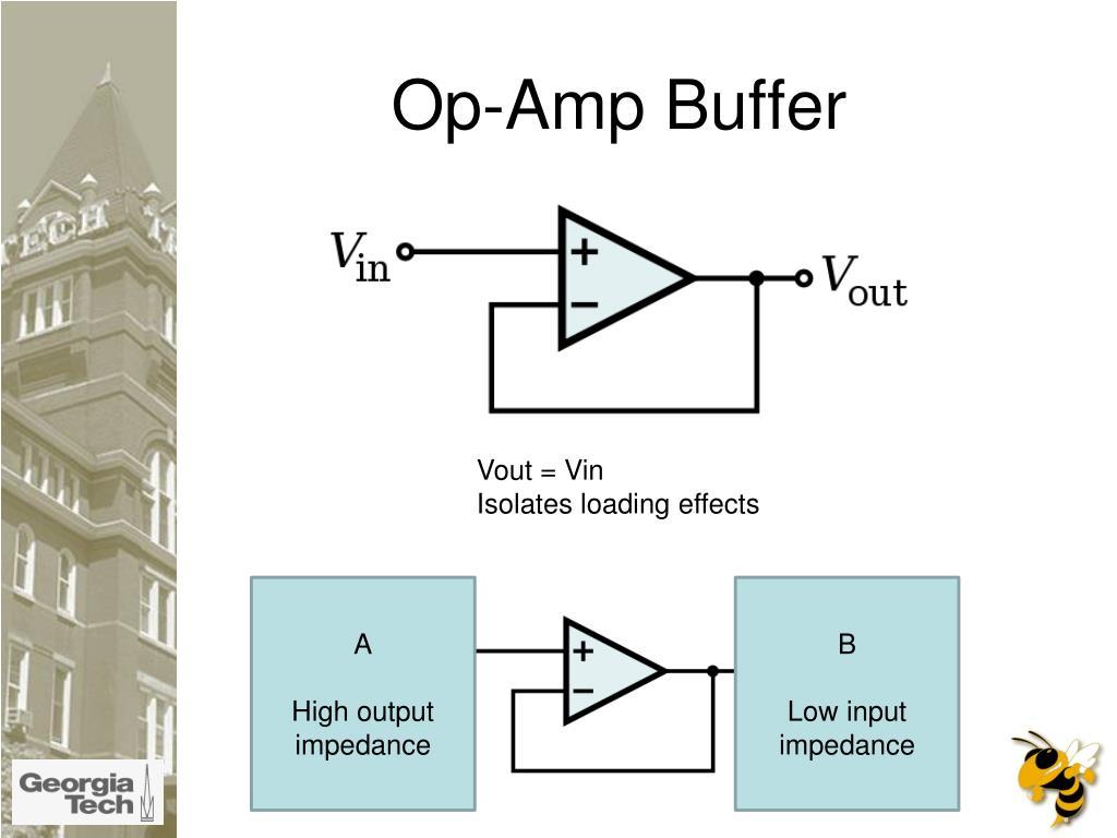 Op-Amp Buffer