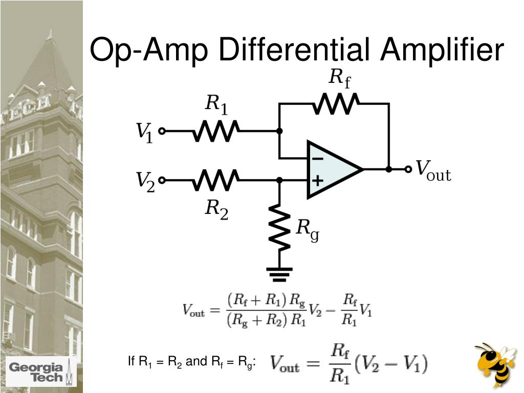 Op-Amp Differential Amplifier
