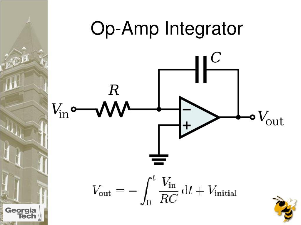 Op-Amp Integrator