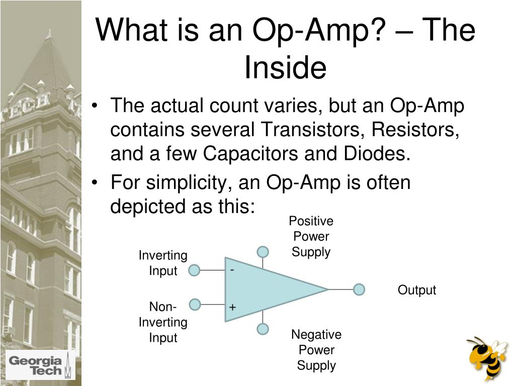What is an Op-Amp? – The Inside