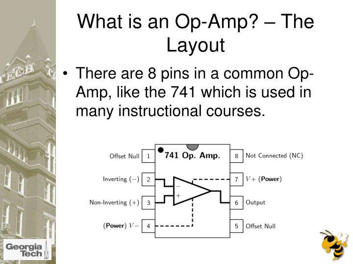 What is an op amp the layout l.jpg