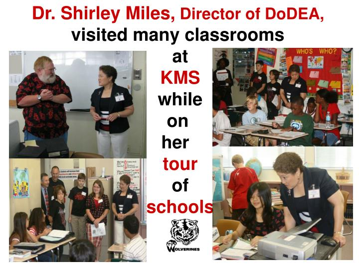 Dr. Shirley Miles,