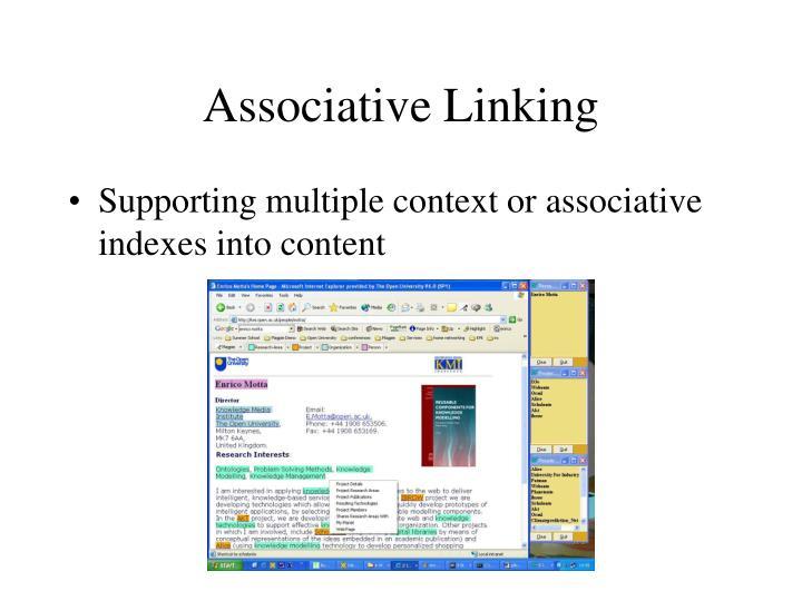 Associative Linking