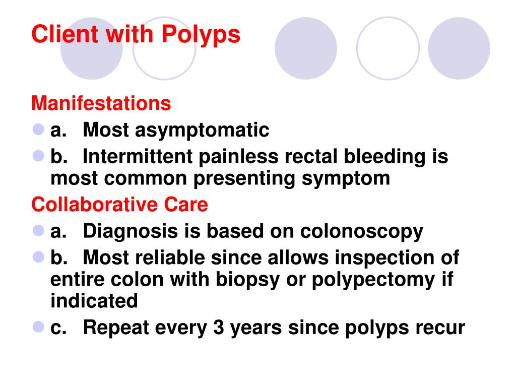 Client with Polyps