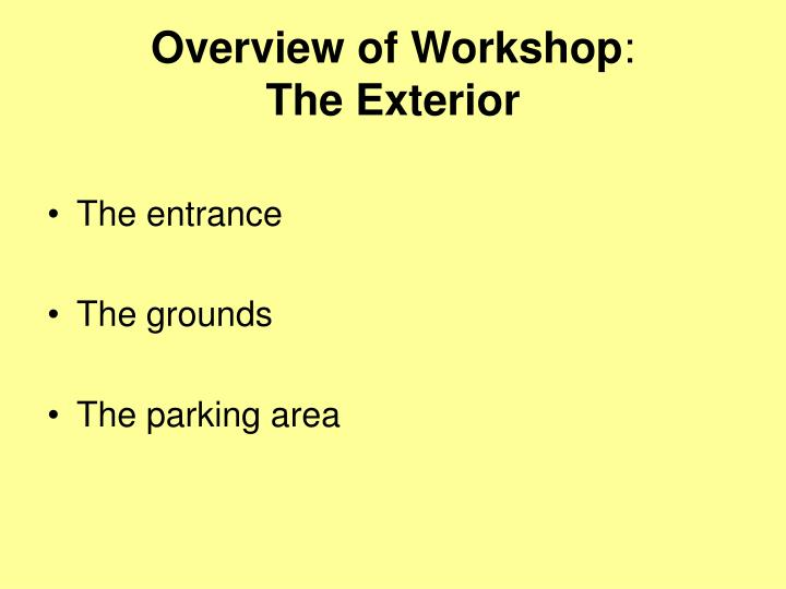 Overview of workshop the exterior l.jpg