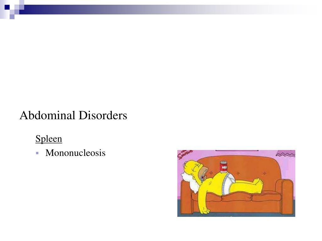 Abdominal Disorders
