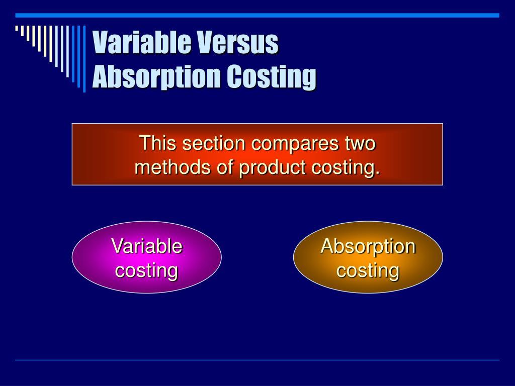 Variable Versus