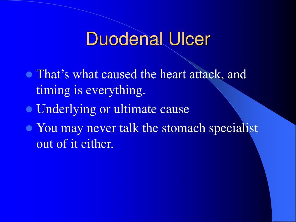 Duodenal Ulcer