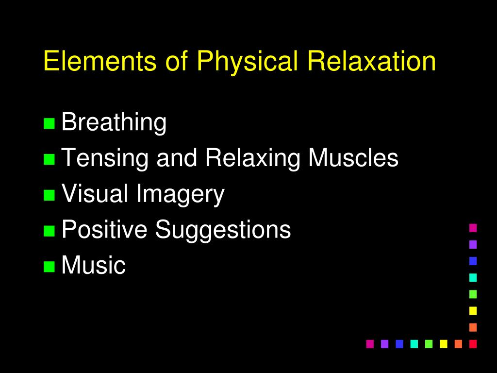 Elements of Physical Relaxation
