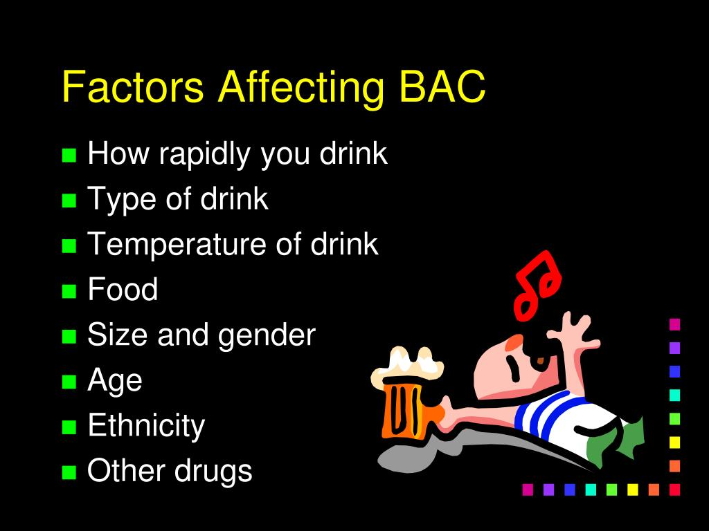 Factors Affecting BAC