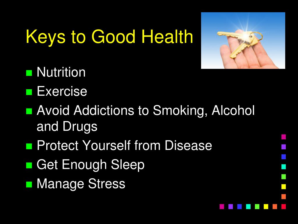 Keys to Good Health