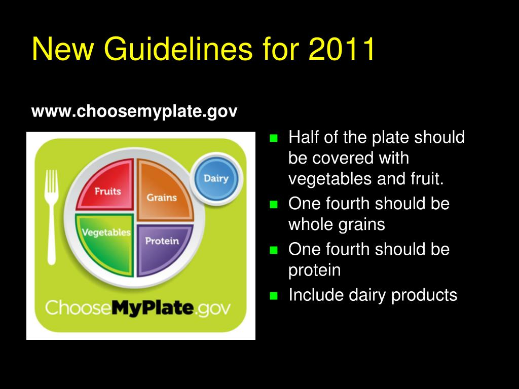 New Guidelines for 2011