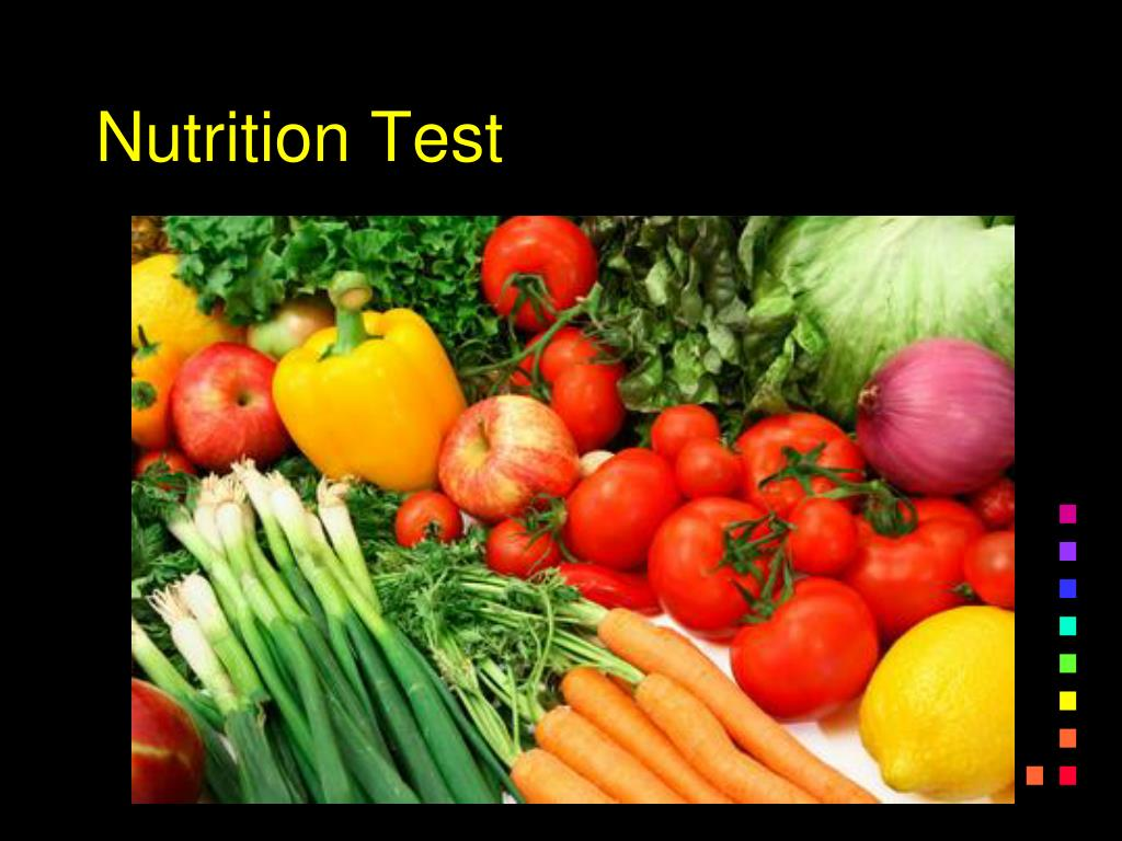 Nutrition Test