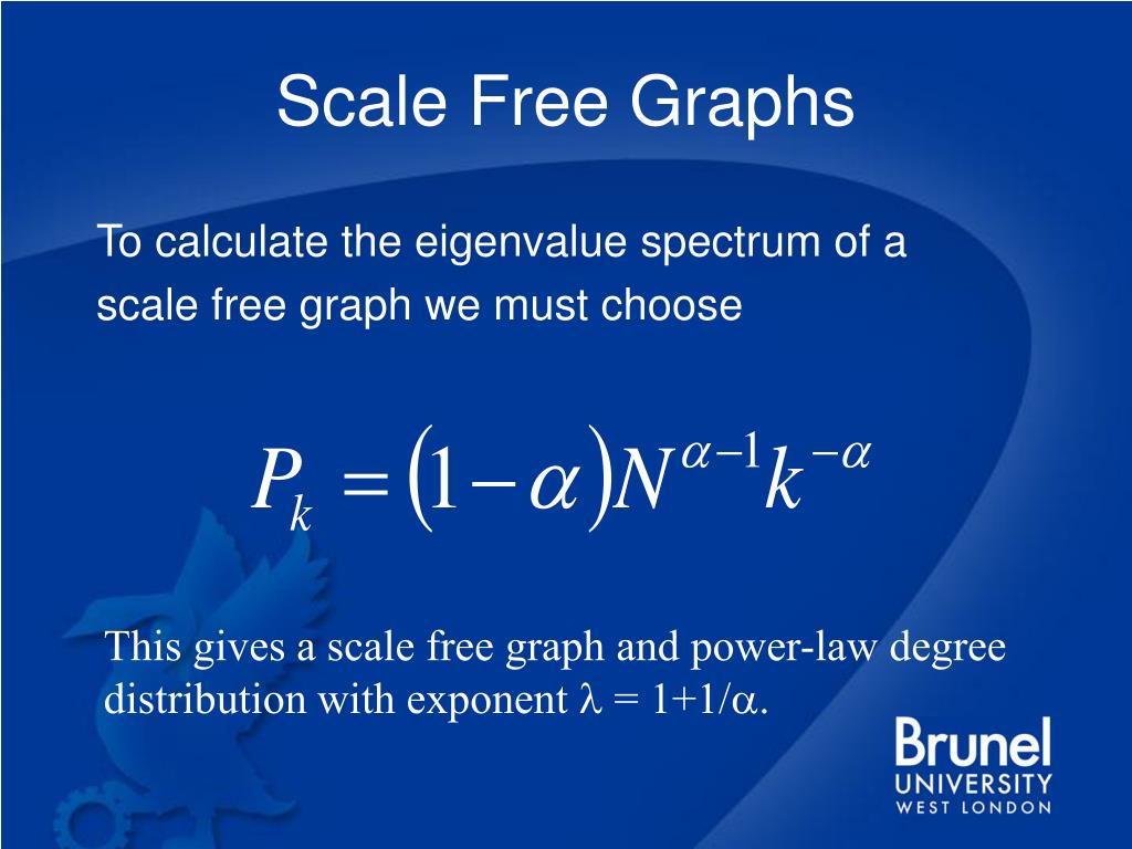 Scale Free Graphs