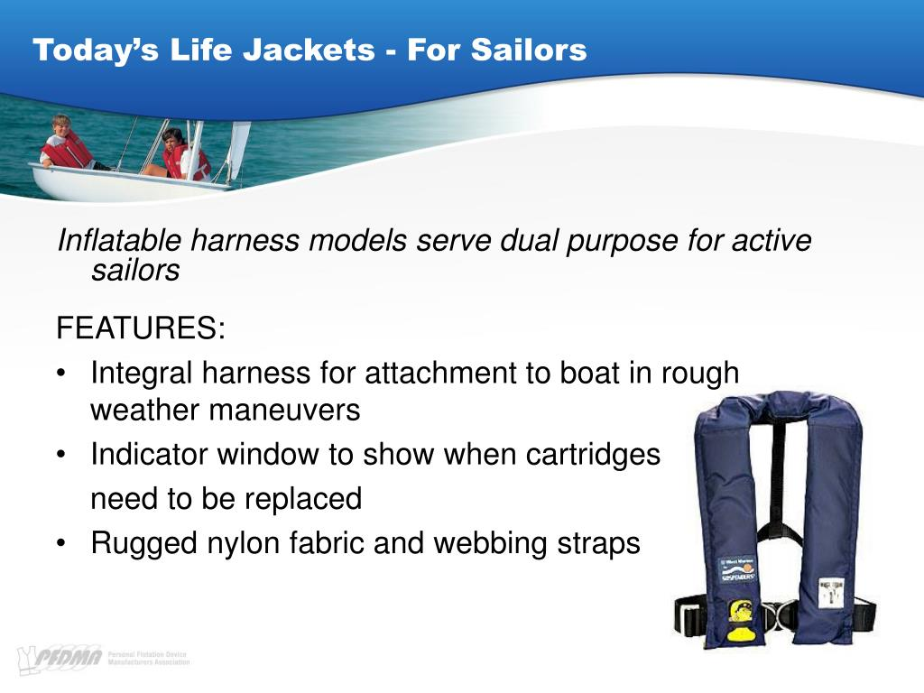 Today's Life Jackets - For Sailors