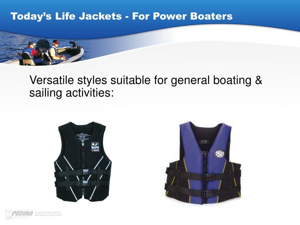 Today's Life Jackets - For Power Boaters
