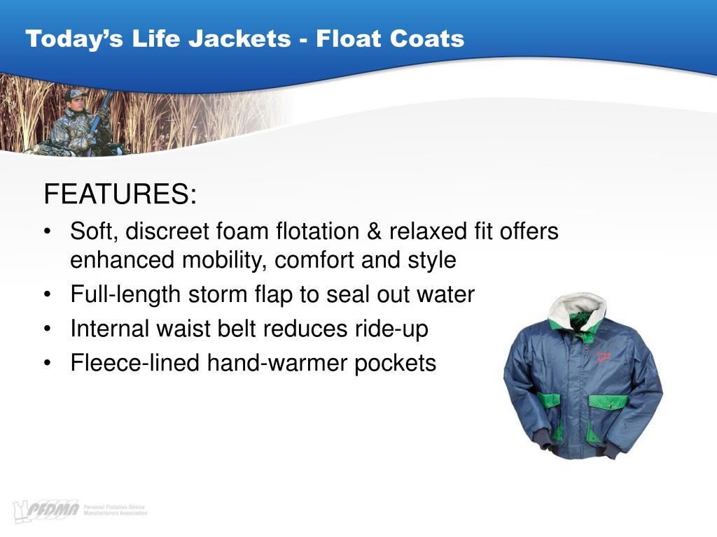Today's Life Jackets - Float Coats