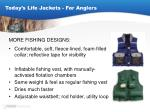 today s life jackets for anglers18