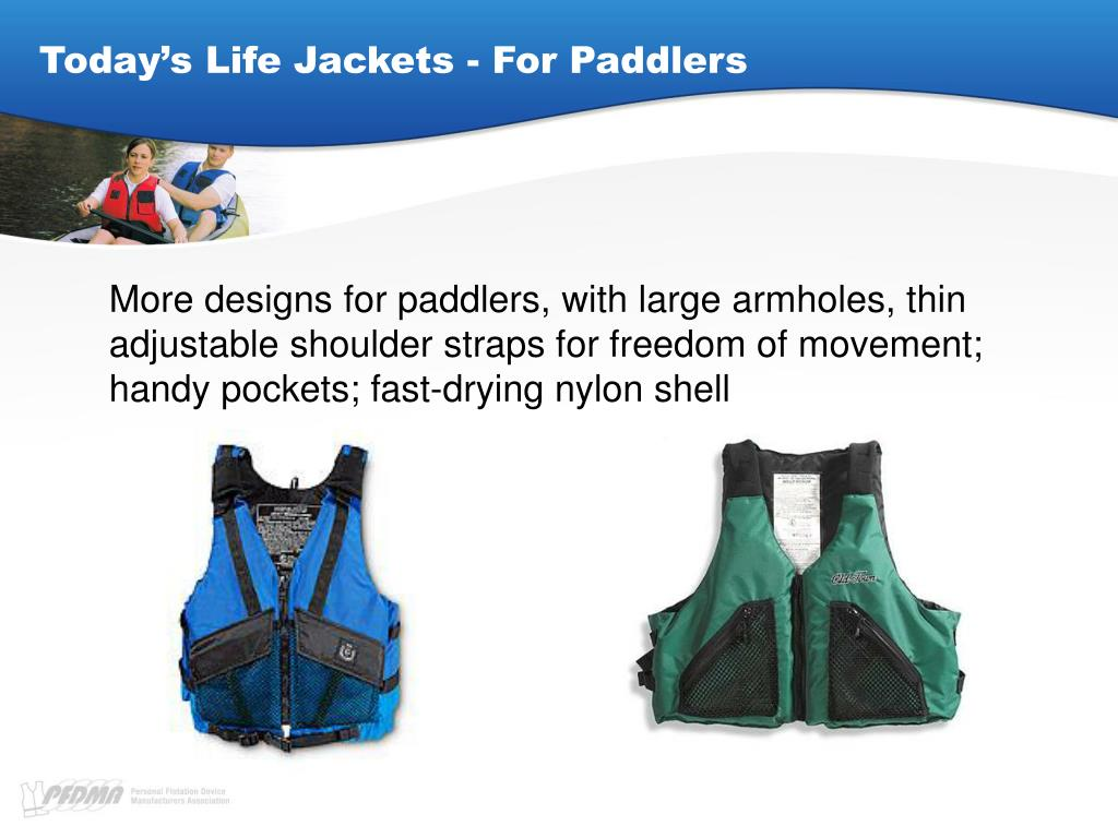 Today's Life Jackets - For Paddlers