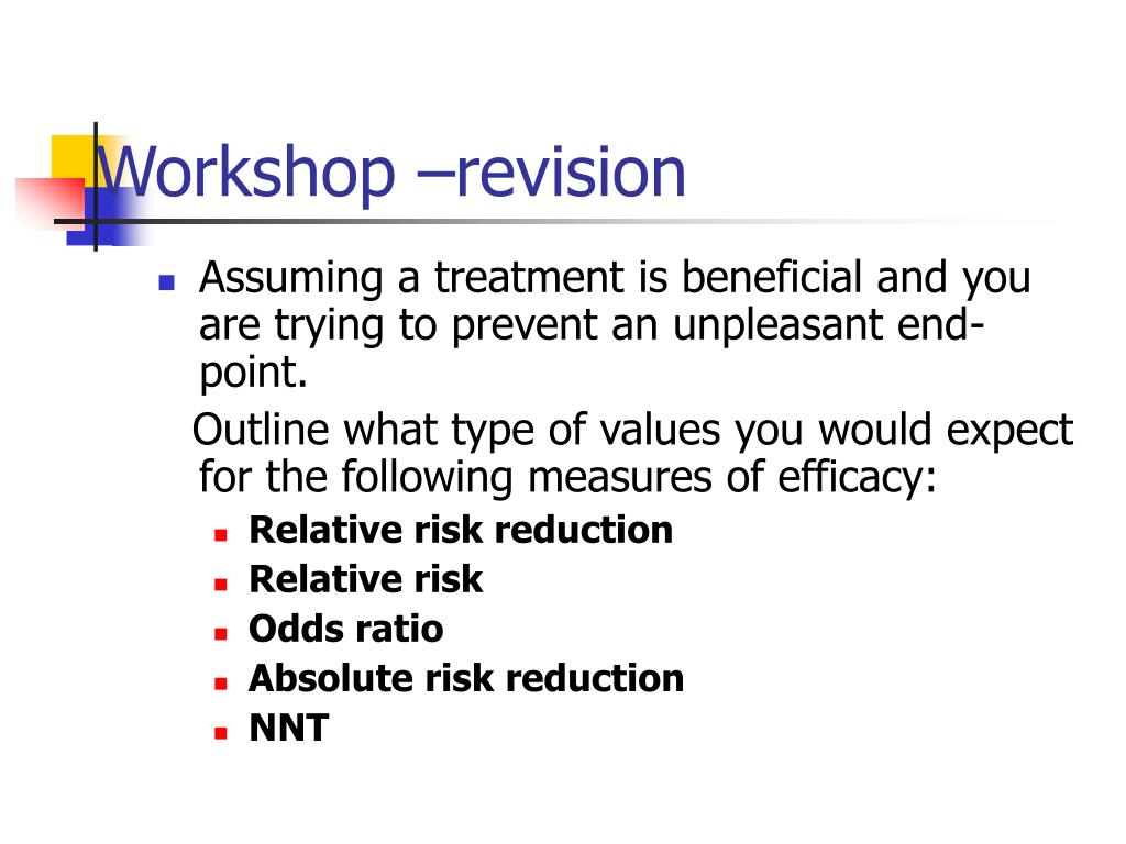 Workshop –revision