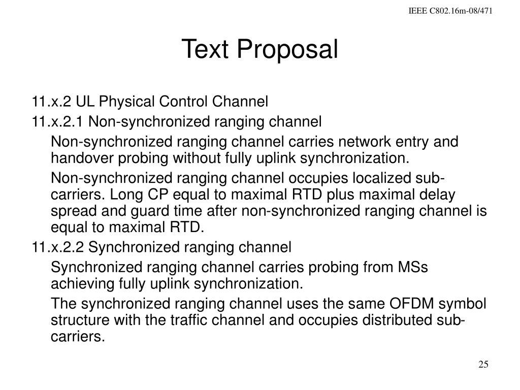 Text Proposal