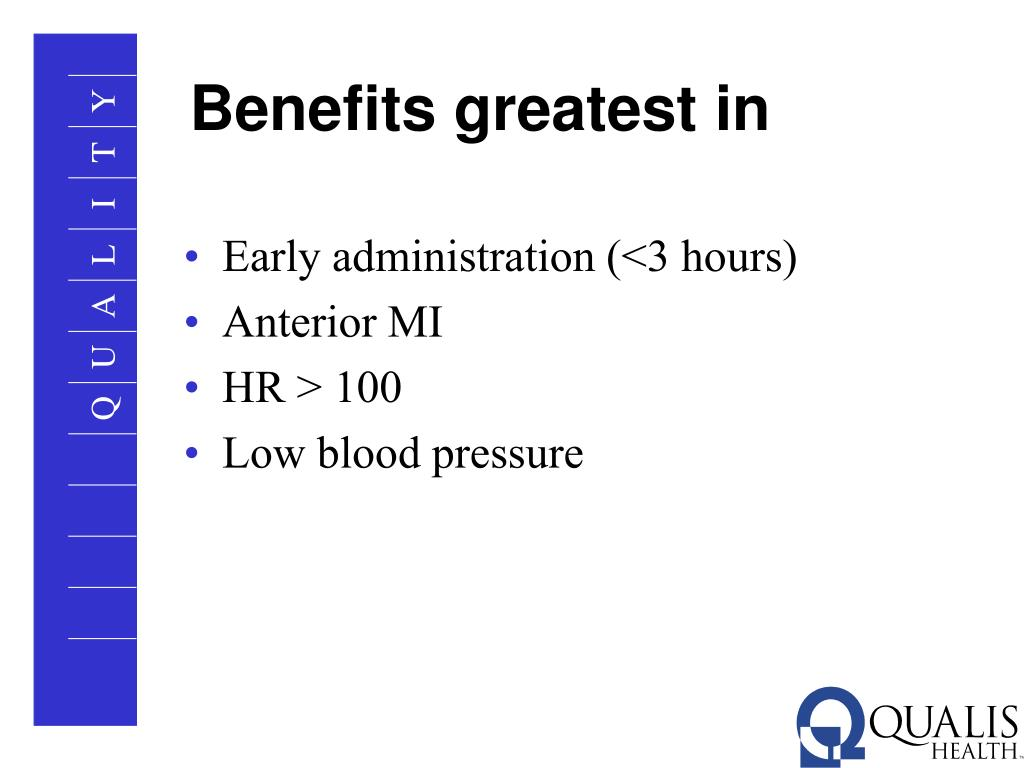 Benefits greatest in