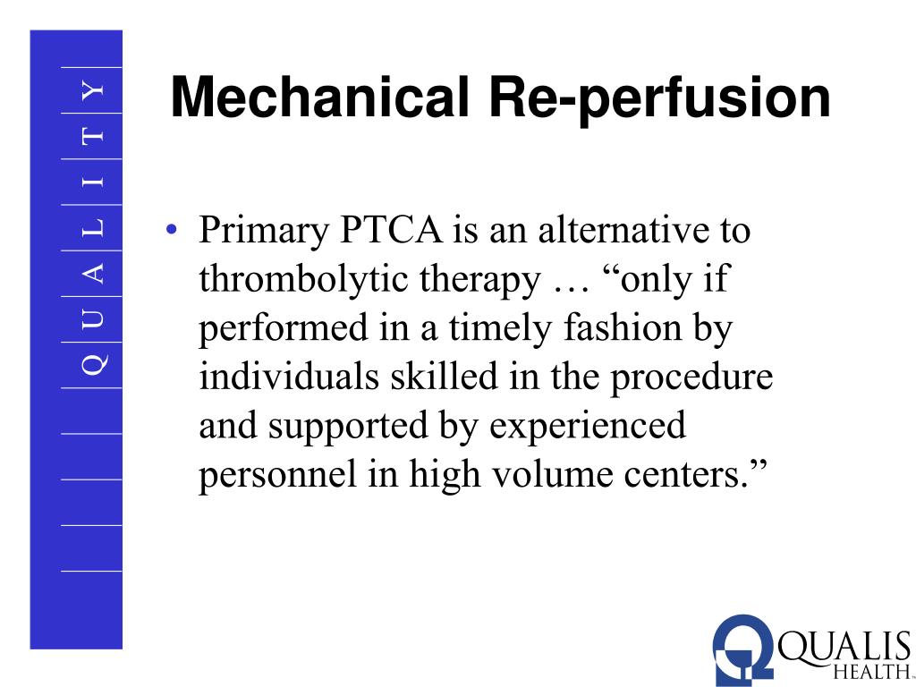 Mechanical Re-perfusion