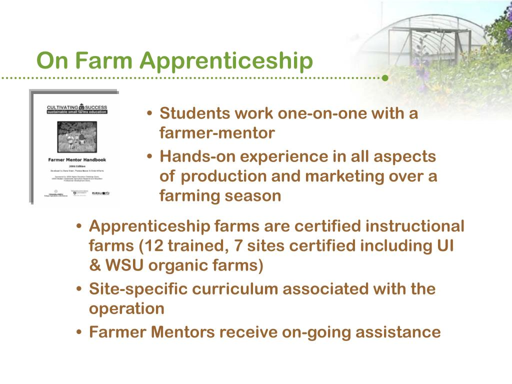 On Farm Apprenticeship