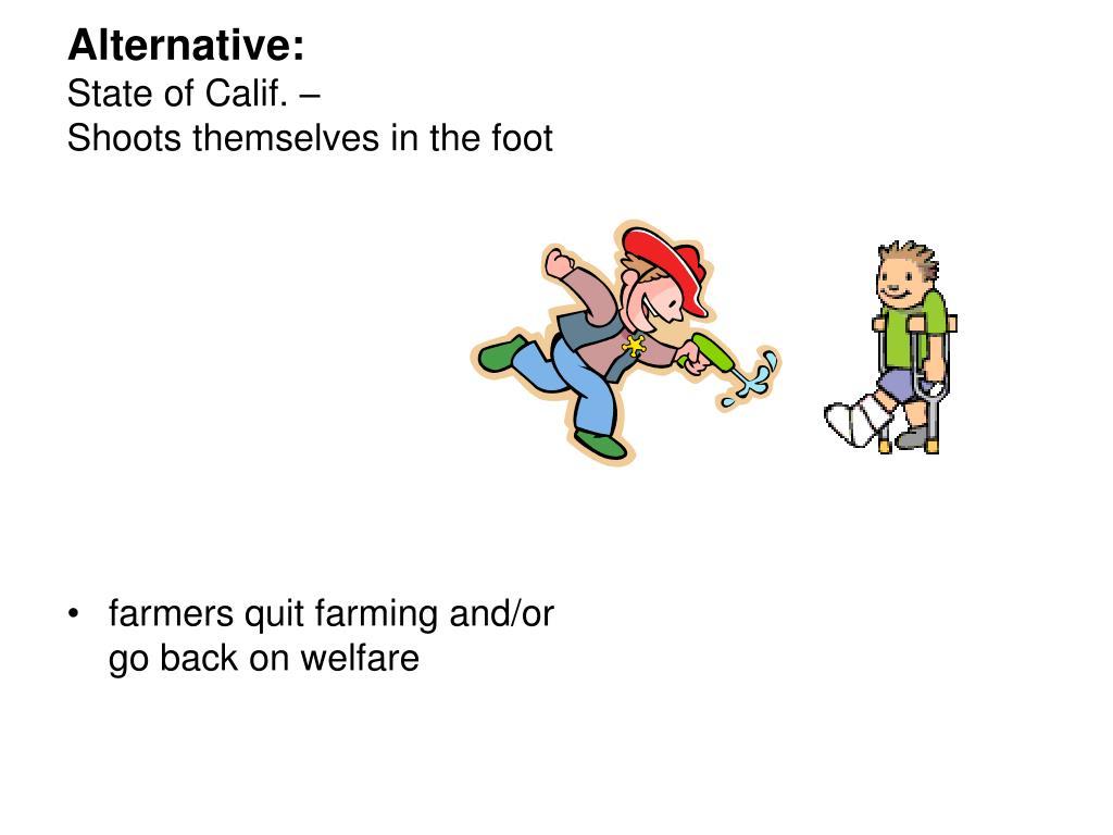 Alternative: