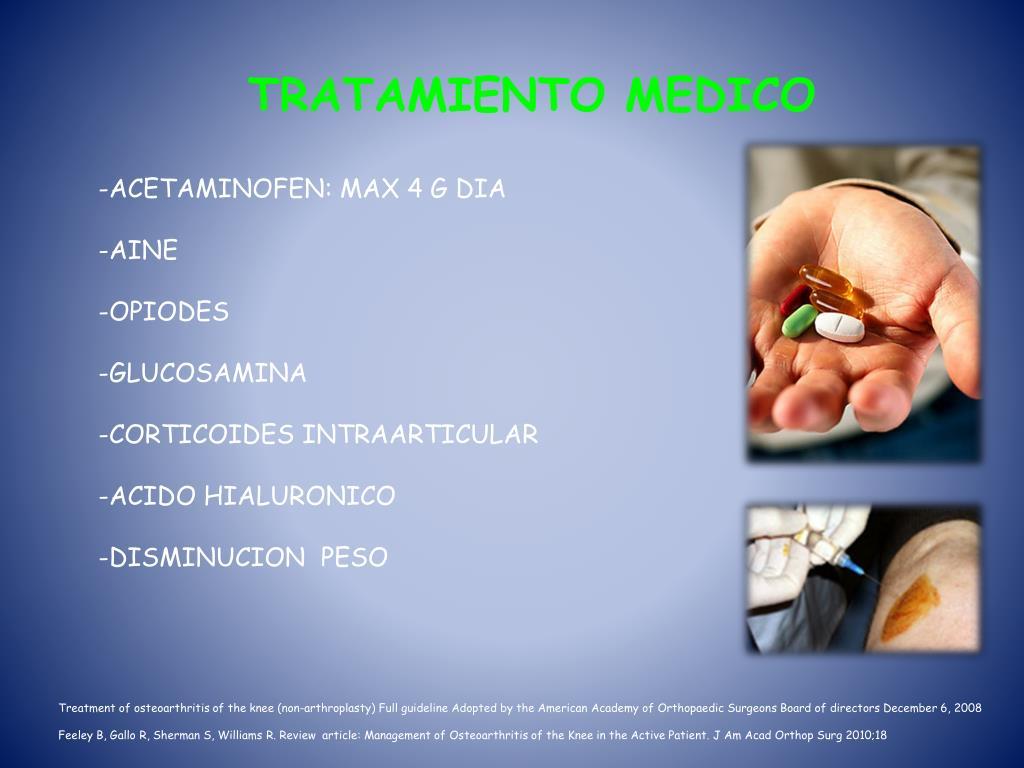 TRATAMIENTO MEDICO