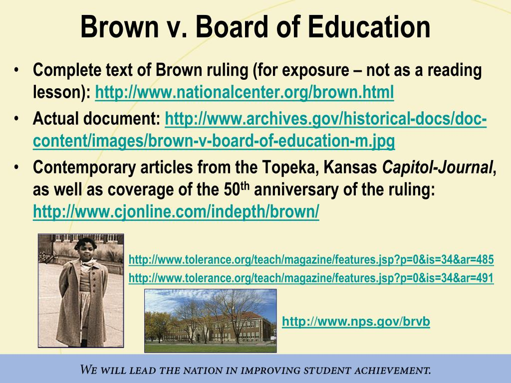 the significance of brown versus the board of education of topeka kansas Brown v board of education of topeka was a landmark 1954 supreme court case in which the justices ruled unanimously that racial segregation of children in public schools was unconstitutional .