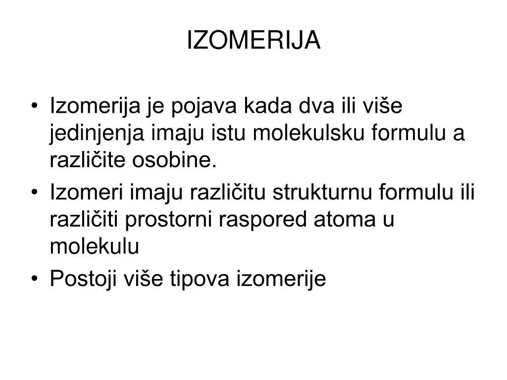 IZOMERIJA