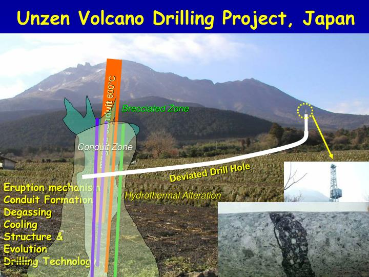 Unzen Volcano Drilling Project, Japan