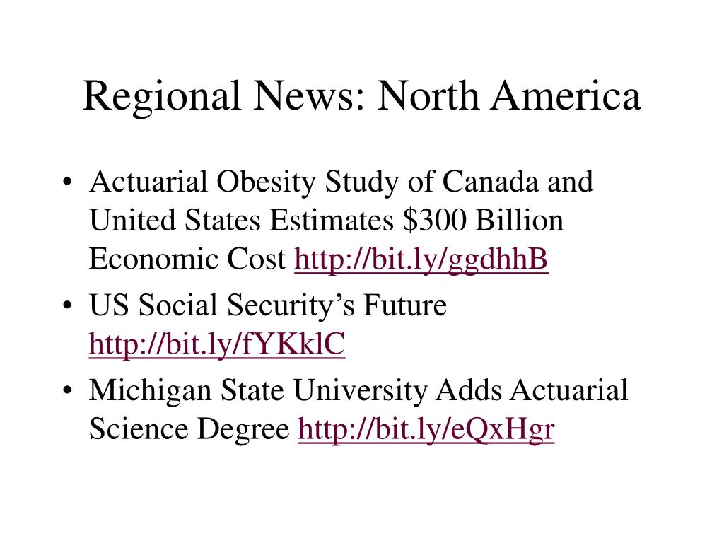 Regional News: North America
