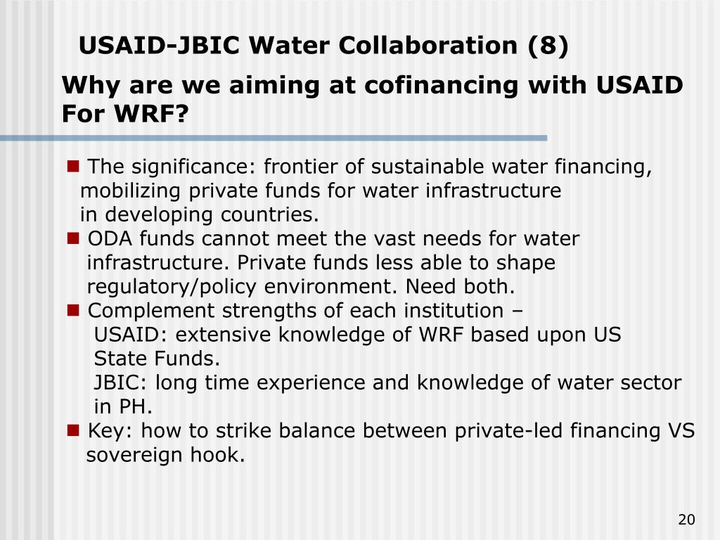 USAID-JBIC Water Collaboration (8)