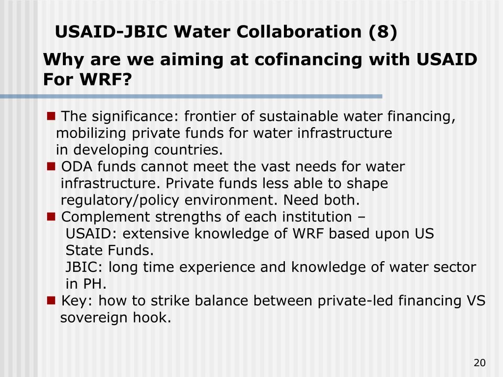 USAID-JBIC Water Collaboration (8)