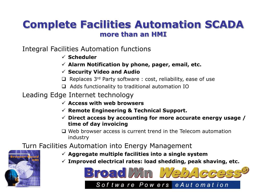 Complete Facilities Automation SCADA