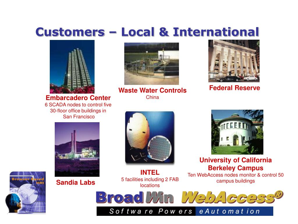 Customers – Local & International