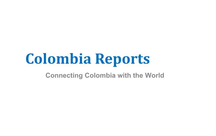 Colombia reports