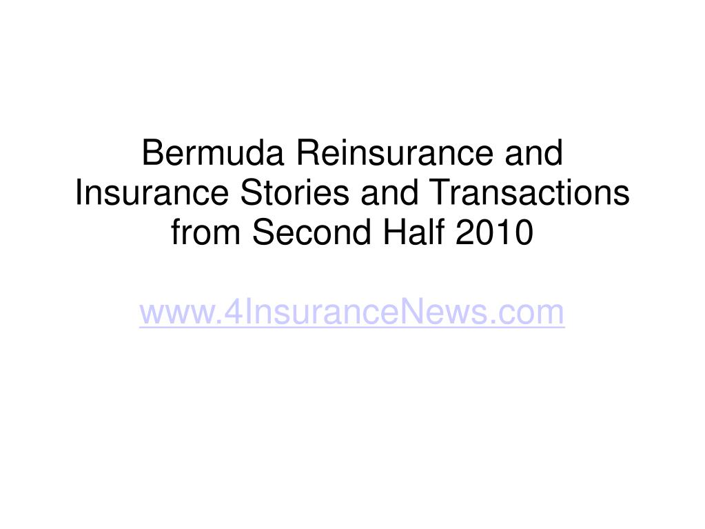 Bermuda Reinsurance and