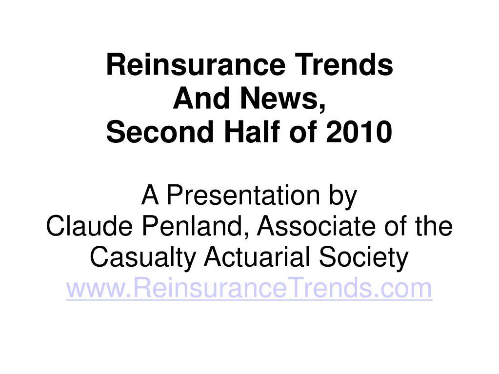Reinsurance Trends