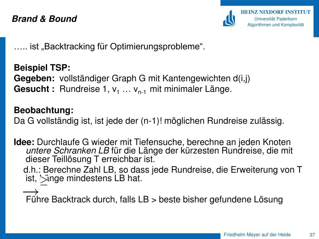 Brand & Bound