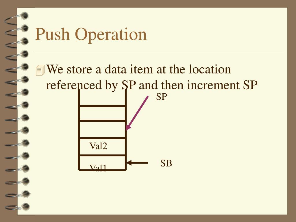 Push Operation
