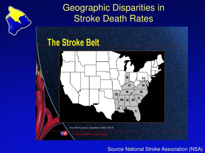 Geographic Disparities in