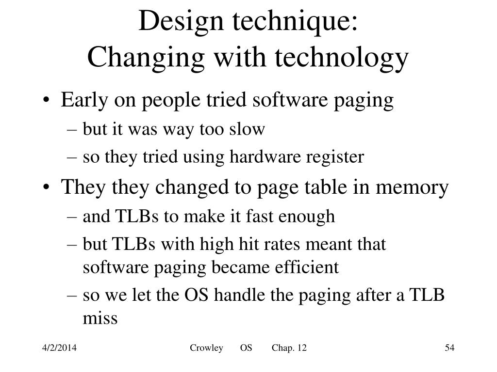 Design technique: